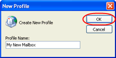 Step 4 Check the box marked Prompt for a profile to be used. Step 5 Click the Add button.