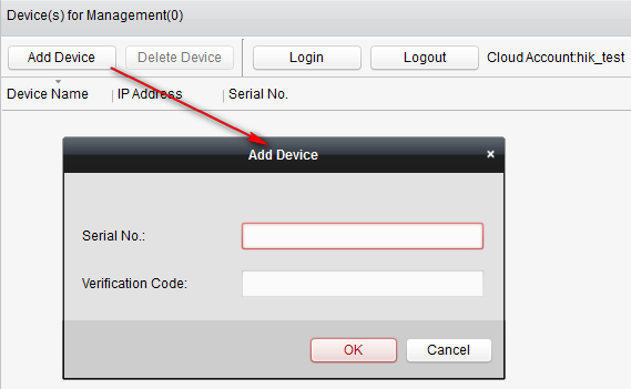 How to preview ezviz device via Web Browser / Mobile Client