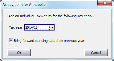 From here you need to select the last tab Updates / Misc. and then click Check for Updates. This will run through an install routine and update the package for the current tax year.