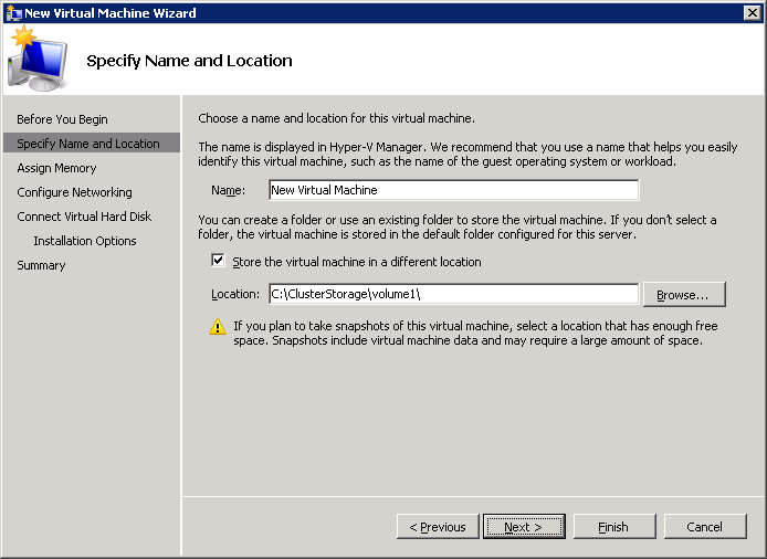 CREATING A HIGHLY AVAILABLE VIRTUAL MACHINE To create an HA virtual machine: 1. Launch Server Manager. 2.