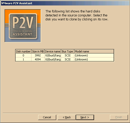 CHAPTER 4 Creating Cloned Disks match. For example, if you used port 5000 on the source computer you must specify 5000 in this window. P2V Assistant connects to the source computer.