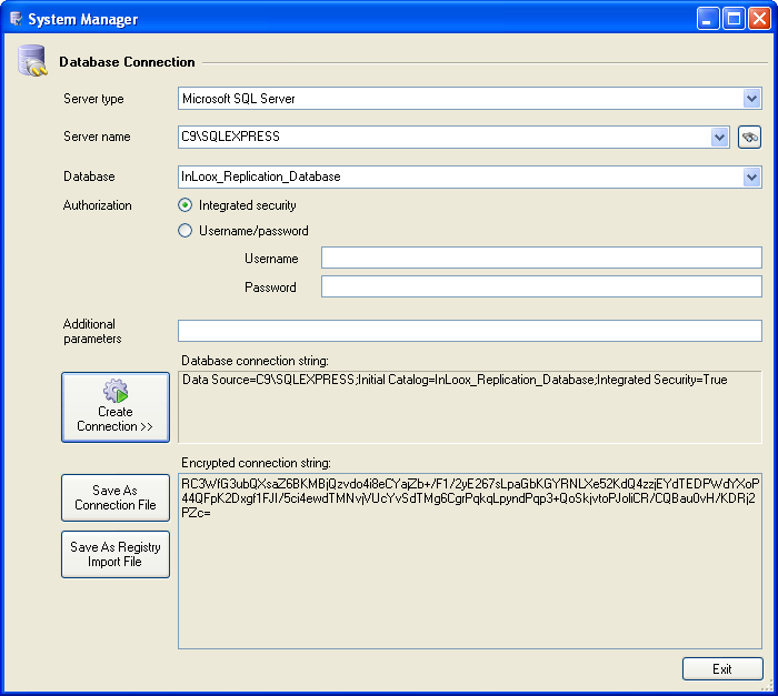 Changing InLoox database connection on the Client Finally, you have to change the database connection of the InLoox PM clients. The connection data is stored in the Windows Registry.