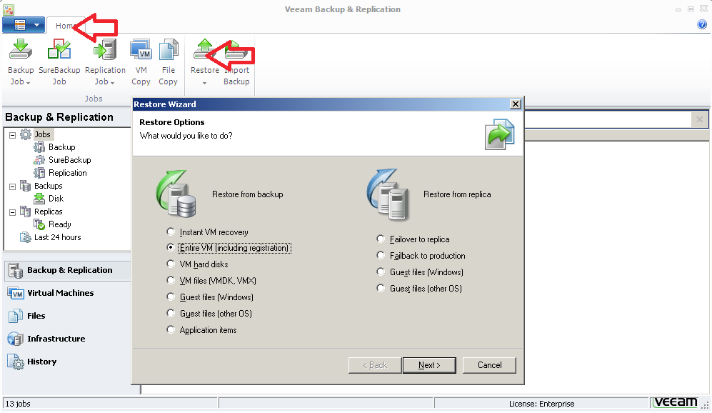 The Right Tool for the Job: Using Veeam Backup & Replication