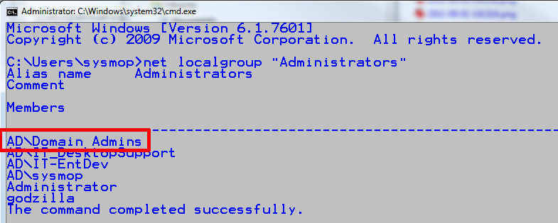 a. From a command shell, enter: gpresult /R /SCOPE COMPUTER more Verify that the IP-OPEN SCCM Ports GPO has been applied. 7.