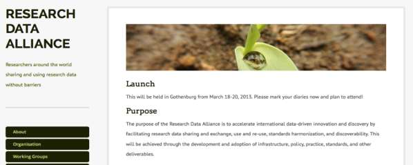 Open Research Data Open Science