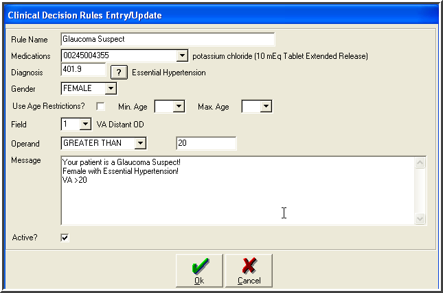 10. Implement one clinical decision support rule Clinical rules can setup for