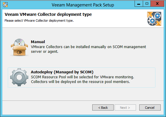 Auto-Deployment automate VMware collector and MP roll-out Automatically configure vcenter connectivity and install management