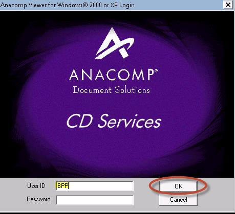 To view the Earnings Register Report, double-click the ANACOMP icon to start the ALVA program.