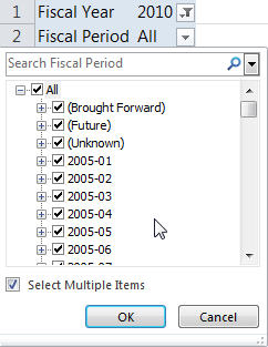 Pet Peeve #3: Lack of Cascading Filters You filter on FY 2010 So why
