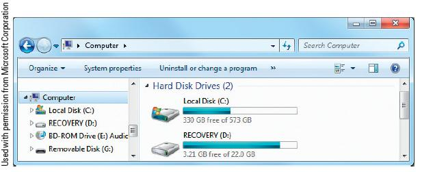 File system Hard Drive Partitioning and File Systems Determines the partition size, cluster size, maximum