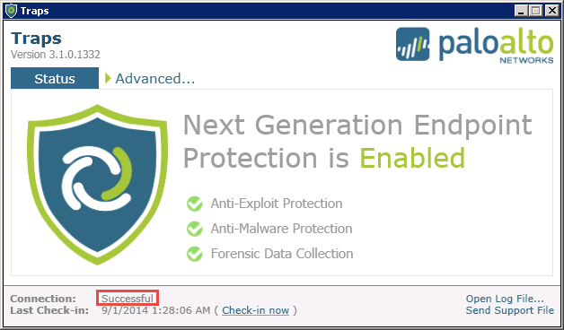 Advanced Endpoint Protection Overview Advanced Endpoint Protection Components Endpoints An endpoint is a Windows-based computer, server, virtual machine, or mobile device running the client-side