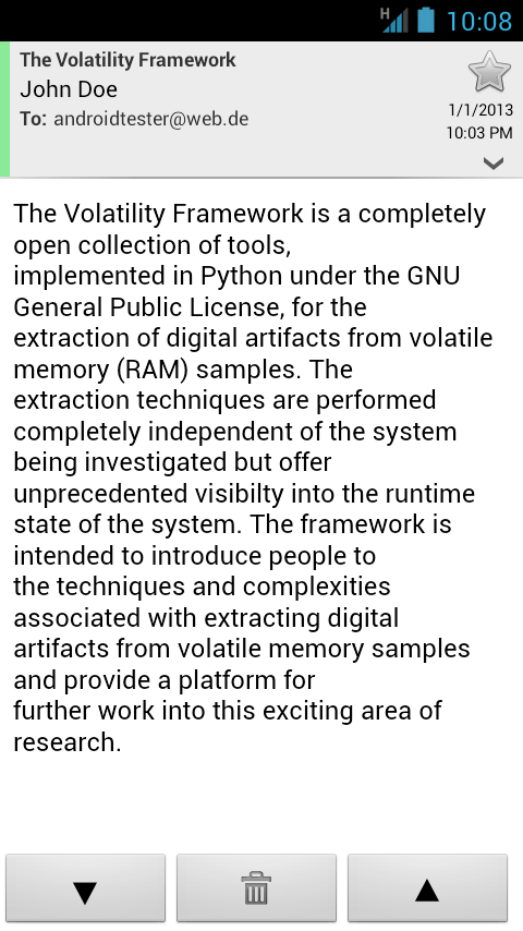 Live Memory Forensics on Android with Volatility - PDF