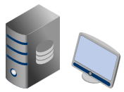 Typical installation: Enables full functionality Microsoft SharePoint front-end Web server (64-bit) Acronis SharePoint Explorer Agent Microsoft SQL Server Acronis SharePoint Explorer Console