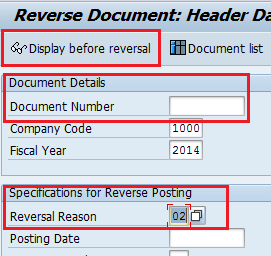 Reverse a Non-PO Invoice If a non-po invoice was posted erroneously, it can be reversed using the FB08 transaction Cancel Invoice Document.