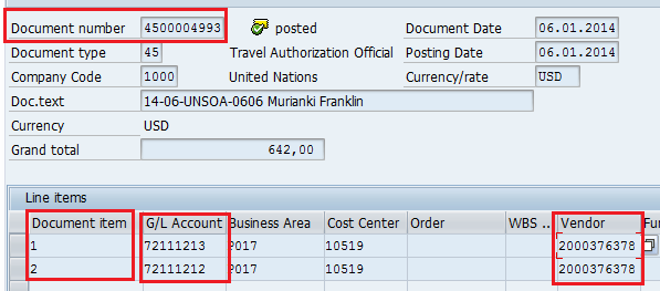 Process Invoice Without PO To create a non-po Invoice: Review the Fund Commitment Document using the T-code FMZ3 and note