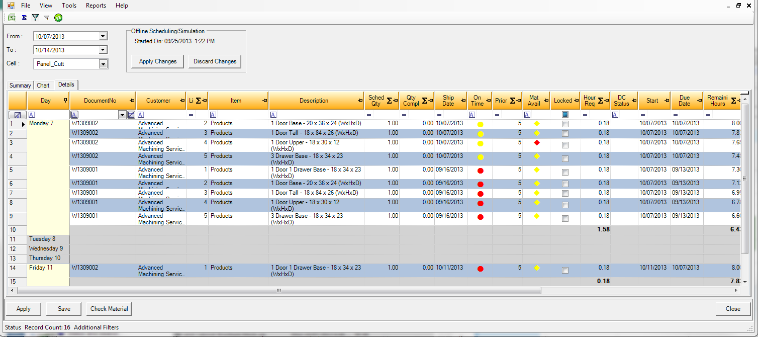 Seradex OrderStream is a powerful tool set at your fingertips. You can coordinate scheduling; purchasing and inventory.