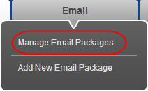 Step 2 A list of your domains and hosting packages will appear. Scroll down the list and click the button marked Email next to the domain name containing your Exchange 2013 mailbox.