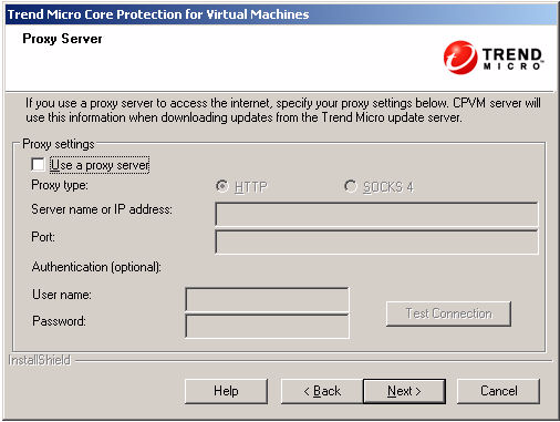 9. On the Installation Path screen, enter the CPVM Server installation path and click Next.