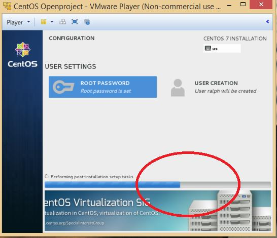 OPENPROJECT INSTALL ON CENTOS 7 RUNNING IN VMWARE PLAYER - PDF