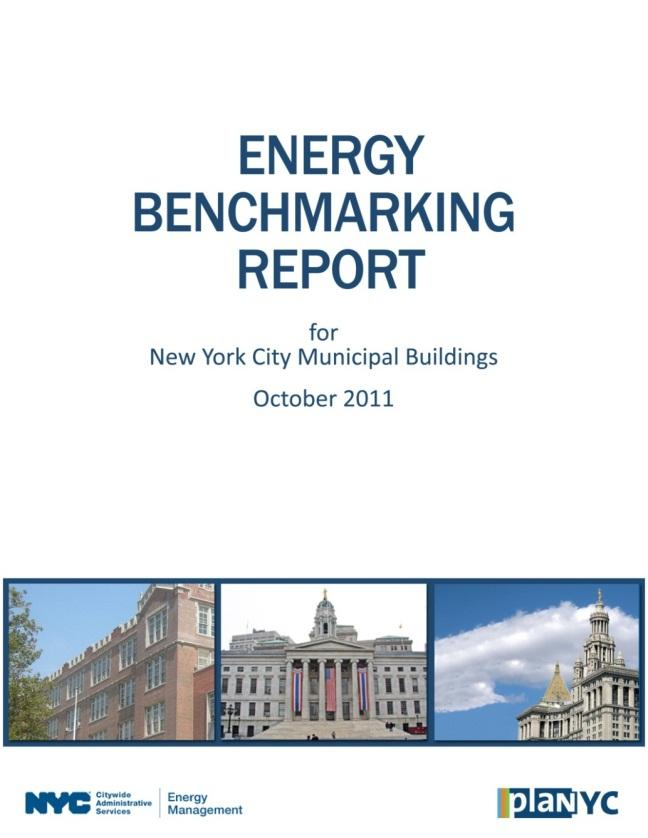 Local Law 84 - Benchmarking Third annual round completed May 1, 2012 2,730 buildings over 10,000 sf 260.