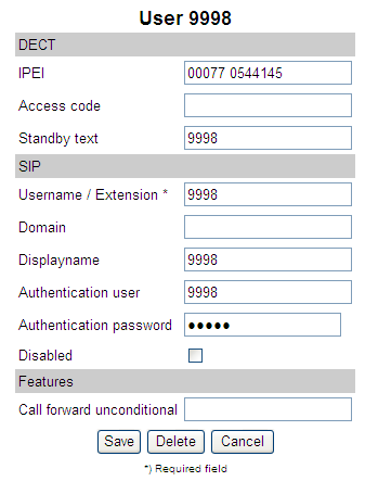 number that has been added in the CUCM Domain = is not mandatory (can be used on a per-user basis in order to register the specific handset to a separate SIP call handler).