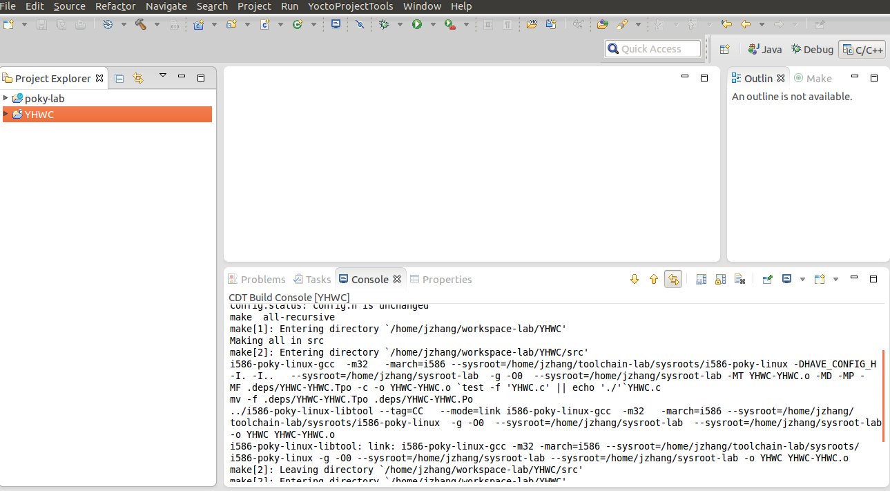 Yocto Project Eclipse plug-in and Developer Tools Hands-on