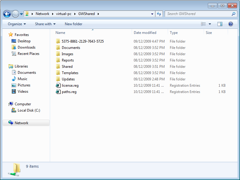 IMPORTING WINDOWS REGISTRY FILES From the workstation(s) installed with Gateway Live we need to import the registry settings that were saved into the folder that is holding the paths.reg and license.