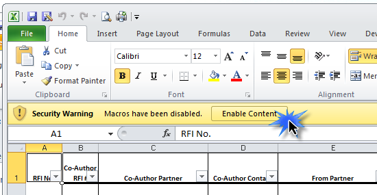 The Named Templates are preformatted reports (Logo, Print Area, Formatted Rows & Columns, etc.