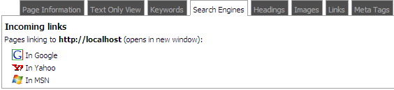 3.3 Keywords The keywords tab shows the words and word combinations which are used most often.