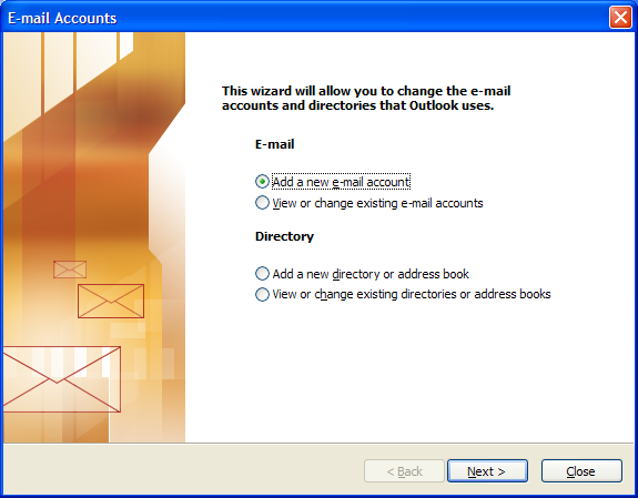 Outlook 2003 Configuration Note: Outlook 2003 supports Outlook Anywhere, but it is not configured automatically and is generally not necessary.