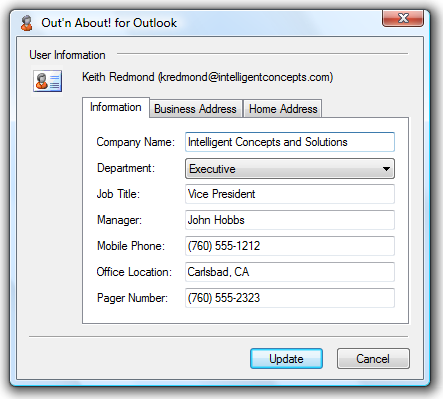 Import Outlook Address Book As an administrator you can import users from the Outlook Address Book/Exchange Global Address List (GAL) by opening the Administration Menu, and selecting the Import from