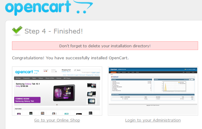 Getting start with opencart(continue) 1.