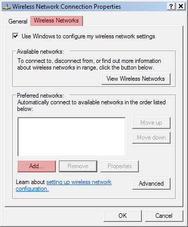 Windows XP 1. Click on Start, Connect To, and then Wireless Network Connection. 2.