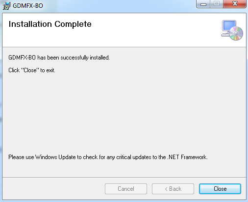 2. Run the downloaded file and follow the onscreen instructions 3.