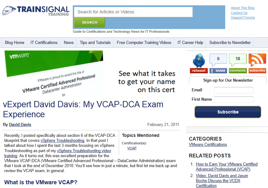 Top 3 Vmware Certifications You Must Get And How To Pass The First