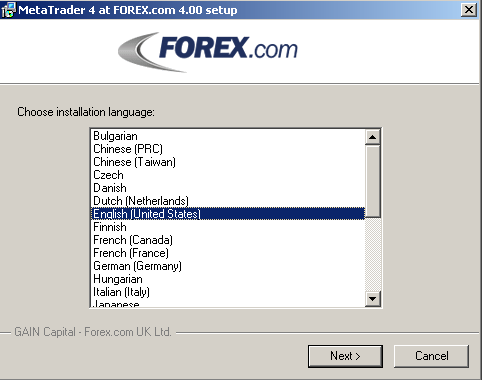 Download Metatrader 4 Select