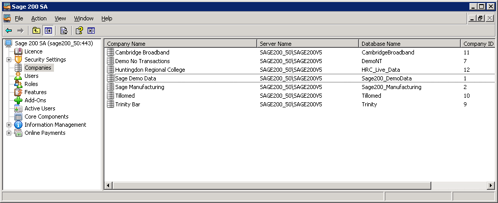 Make a note of the database name then close out of this screen once you have found the correct database and then open SQL Server Management Studio.