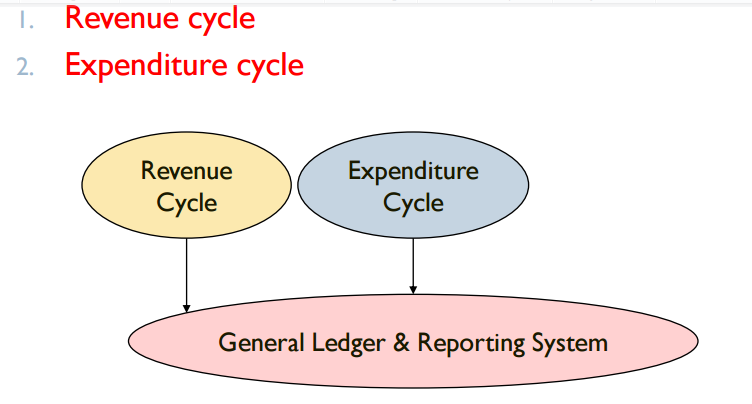 Transaction Cycle Process Begins with capturing data about a transaction Ends with an information output, such as financial statements Two Major transaction Cycle Processes: 9 Accounting Transaction