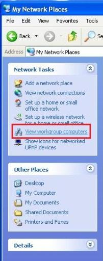 USING WINDOWS XP TO ACCESS HOMEGROUP CONTENT If you have a computer running Windows XP, follow these steps to access homegroup content shared by your computer running Windows 7. 1.