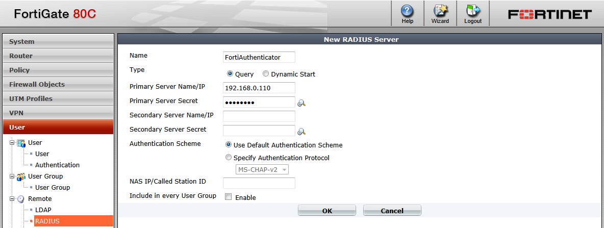 FortiAuthenticator - Two-Factor Authentication Agent for