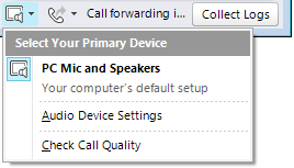 Use voice and video Use voice and video If you have a microphone and speakers, you re ready to use Microsoft Lync communications software for voice calls.