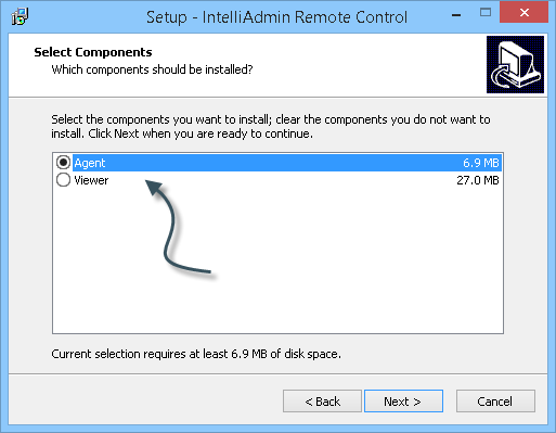 Quick Start Guide If you have not done it already, download the latest version of IntelliAdmin Remote Control from here: http://www.intelliadmin.com/setupex.