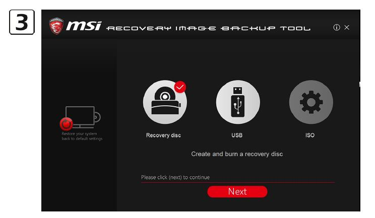 Q: How to use MSI BurnRecovey on Windows 10 preloaded system? - PDF