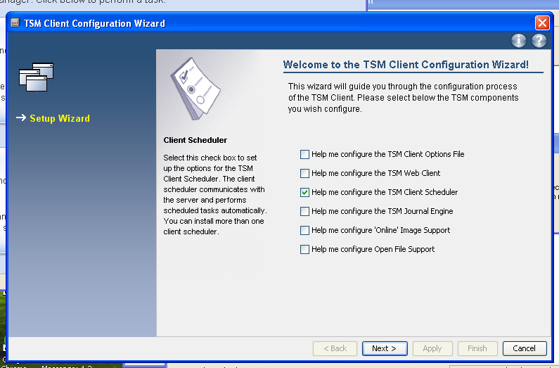 TSM for Windows Installation Instructions: Download the