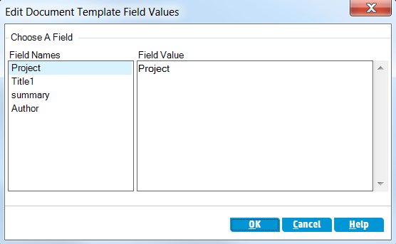 Chapter 8: Analyzing ALM Data The dialog box en