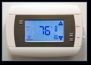 Manual adjustments to the thermostat cause it to revert to the previous manually-set target temperature until the system reloads your custom settings to the thermostat.