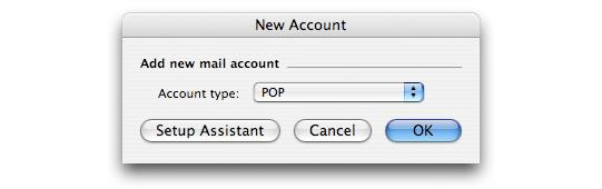 5. In the E-mail address field, type your email address and click Configure Account Manually 6. Select POP from the Account type dropdown list 7.
