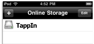 Adding Tappin as a WebDAV Server In order to access your Tappin shared folders using OneDisk, you need to add the Tappin