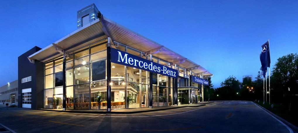 38 Divisions Mercedes-Benz Cars Dealer network expansion will be