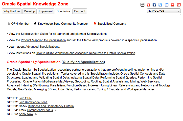 Spatial Knowledge Zone http://www.oracle.com/partners/en/knowledge-zone/database/spatial-1534087.